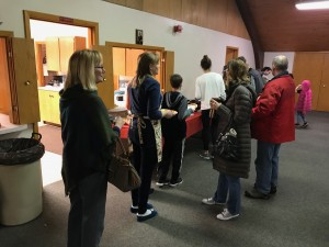 Youth Group Soup Lunch 2-3-19 #1