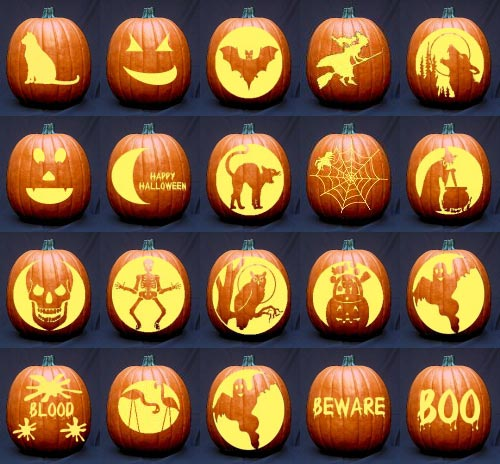Halloween pumpkin faces image king