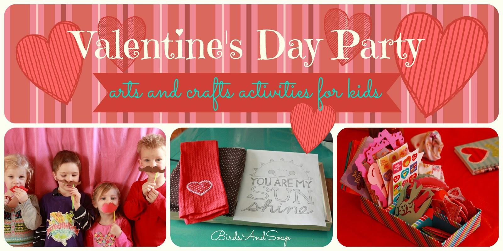 Valentine party ideas for church - Valentines Day Party Activities
