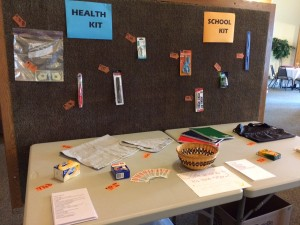 Health and School Kits July 2015